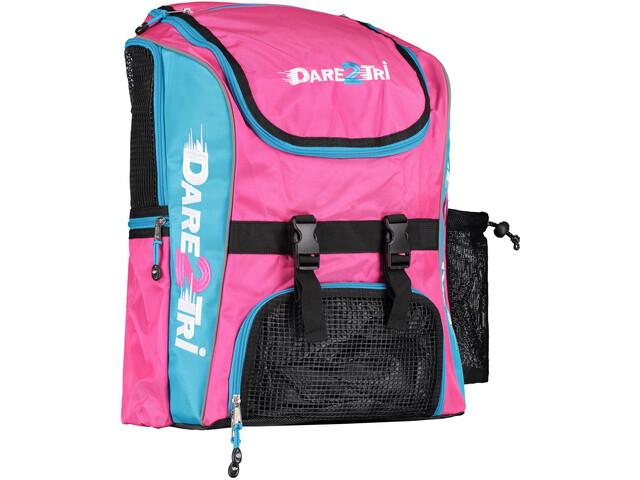 Dare2Tri Transition Backpack 33L pink/blue